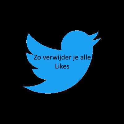 Likes van twitter verwijderen