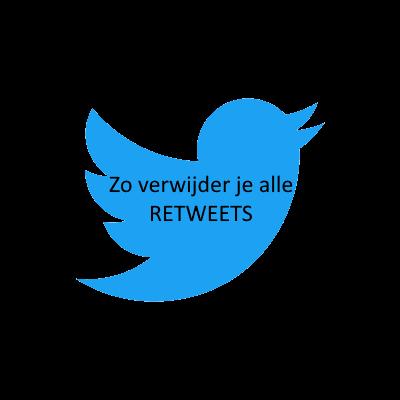 Retweets van Twitter verwijderen