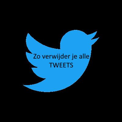 Tweets van Twitter verwijderen